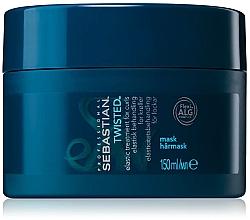 Perfumería y cosmética Mascarilla para cabello rizado con complejo de algas - Sebastian Professional Twisted Elastic Treatment