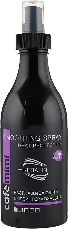 Spray capilar de protección térmica con queratina - Cafe Mimi Smoothing Spray Heat Protection