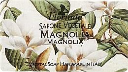 Perfumería y cosmética Jabón artesanal vegetal con aroma a magnolia - Florinda Sapone Vegetale Magnolia