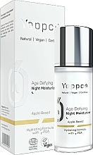 Perfumería y cosmética Crema de noche antiedad e hidratante con ácido poliglutámico - Yappco Age Defying Moisturizer Night Cream