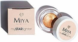 Perfumería y cosmética Iluminador facial natural cremoso con manteca de mango - Miya MyStarLighter