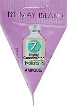 Perfumería y cosmética Sérum facial con ácido hialurónico - May Island 7 Days Highly Concentrated Hyaluronic Ampoule