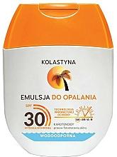 Perfumería y cosmética Emulsión de protección solar resistente al agua - Kolastyna Emulsion Waterproof SPF 30 (mini)