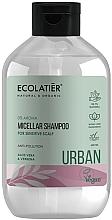 Perfumería y cosmética Champú micelar vegano con aloe vera & verbena, sin aroma - Ecolatier Urban Micellar Shampoo