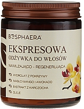 Perfumería y cosmética Acondicionador de cabello express con aceite de mango y aguacate - Bosphaera