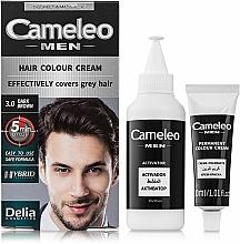 Perfumería y cosmética Tinte de cabello permanente de fácil aplicación - Delia Cameleo Men Hair Color Cream