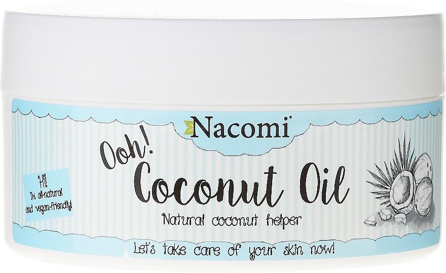 Manteca de coco refinada 100% natural - Nacomi Coconut Oil 100% Natural Refined — imagen N1