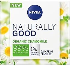 Perfumería y cosmética Crema facial natural con camomila orgánica - Nivea Naturally Good Day Sensitive Care