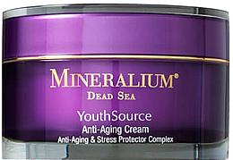Perfumería y cosmética Crema facial antiedad con manteca de karité - Minerallium Youth Source Anti-Aging Cream