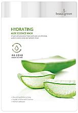 Perfumería y cosmética Mascarilla facial hidratante con extracto de aloe vera - BeauuGreen Hydrating Aloe Essence Mask