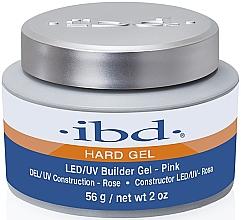 Perfumería y cosmética Gel constructor de uñas, rosa - IBD LED/UV Builder Pink Gel