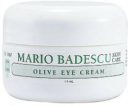 Perfumería y cosmética Crema contorno de ojos con extracto de oliva y cera de abeja - Mario Badescu Olive Eye Cream