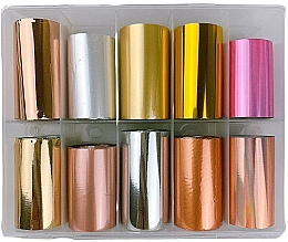 Perfumería y cosmética Láminas de transferencia para decoración de uñas - Deni Carte