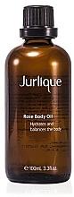 Perfumería y cosmética Aceite corporal con rosa damascena - Jurlique Rose Body Oil
