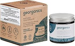 Perfumería y cosmética Pasta dental natural con menta inglesa - Georganics English Peppermint Natural Toothpaste