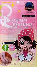Perfumería y cosmética Parches nutritivos desintoxicantes para pies con extracto de rosas - Pilaten Nursing Rose Foot Patch