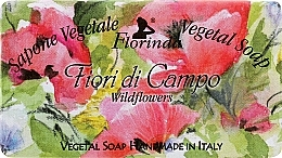 Perfumería y cosmética Jabón vegetal artesanal con aroma a flores silvestres - Florinda Sapone Vegetale Vegetal Soap Wild Flowers