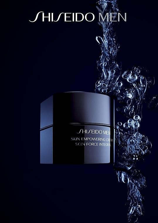 Crema facial revitalizante con glicerina - Shiseido Men Skin Empowering Cream — imagen N7