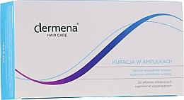 Perfumería y cosmética Ampollas anticaída y estimulación del crecimiento del cabello - Dermena Hair Care Ampoules Against Hair Loss
