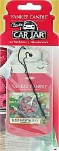 Perfumería y cosmética Ambientador de coche, frambuesa roja - Yankee Candle Car Jar Red Raspberry