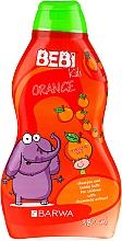 Perfumería y cosmética Champú & baño de burbujas con aroma a naranja 2 en 1 - Barwa Bebi Kids Shampoo And Bubble Bath