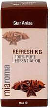 Perfumería y cosmética Aceite esencial de anís 100% puro - Holland & Barrett Miaroma Star Anise Pure Essential Oil