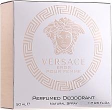 Perfumería y cosmética Versace Eros Pour Femme - Desodorante perfumado
