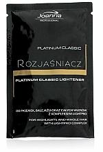 Perfumería y cosmética Aclarador de cabello con extracto de camomila y proteínas - Joanna Professional Platinum Classic Lightener