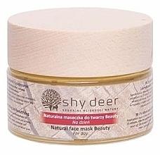 Perfumería y cosmética Mascarilla facial de día con coenzima Q10 - Shy Deer Natural Face Mask Beauty