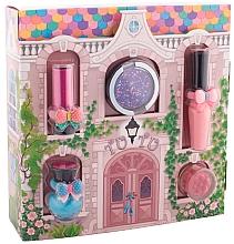 Perfumería y cosmética Tutu Cottage set (bálsamo labial/4ml+brillo labial/7ml+esmalte5ml+sombra de ojos/4,5ml+sombras cremosas/4,5ml) - Set de maquillaje para niñas, La Casa Encantada
