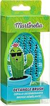 Perfumería y cosmética Cepillo de pelo desenredante, verde-turquesa - Martinelia