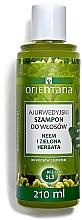 Perfumería y cosmética Champú anticaída del cabello fortificante con té verde & amla - Orientana Ayurvedic Shampoo Neem & Green Tea
