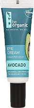 Perfumería y cosmética Crema antiarrugas para contorno de ojos con aceite de aguacate - Be Organic Eye Cream Avocado