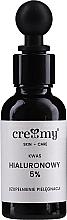 Perfumería y cosmética Ácido hialurónico 5% - Creamy