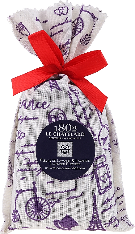 Aromatizador en bolsa, lavanda - Le Chatelard 1802 Paris Lavander