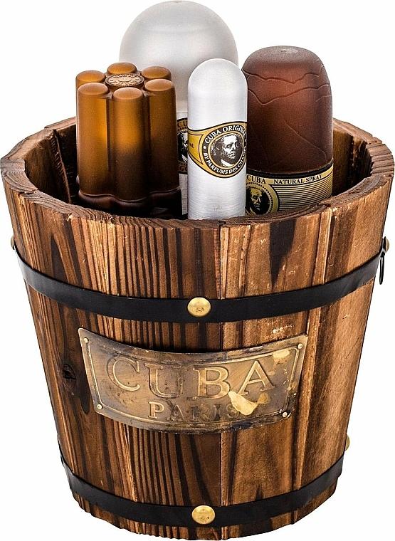 Cuba Gold - Set (eau de toilette/100ml + eau de toilette/35ml + loción aftershave/100ml + desodorante/200ml) — imagen N3