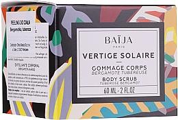 Perfumería y cosmética Exfoliante corporal de azúcar mecánico, aroma a bergamota y nardo - Baija Vertige Solaire Body Scrub