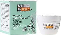 Perfumería y cosmética Crema facial matificante con liquen de Islandia, ácido hialurónico & vitamina E - Natura Estonica Iceland Moss Face Cream