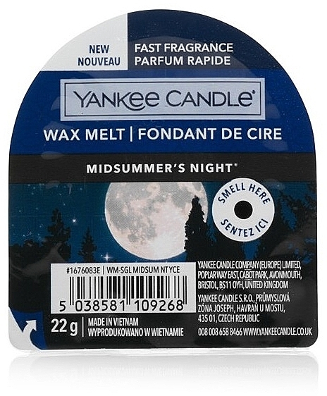 Cera aromática - Yankee Candle Midsummer's Night Wax Melt
