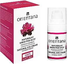 Perfumería y cosmética Crema antiedad para contorno de ojos con extracto de peonía - Orientana Bio Eye Cream Regenerating & Rejuvenating