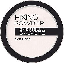 Perfumería y cosmética Polvo compacto transparente matificante - Gabriella Salvete Fixing Transparent Powder