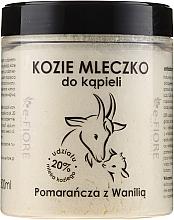 Perfumería y cosmética Leche de cabra de baño con naranja & vainilla - E-Fiore Orange And Vanilla Bath Milk