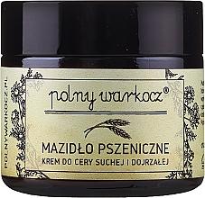 Perfumería y cosmética Crema facial con aceite de germen de trigo y ricino - Polny Warkocz