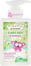 Perfumería y cosmética Espuma de baño con aceite de coco - Jack N' Jill Bubble Bath Sweetness