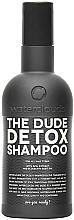 Perfumería y cosmética Champú detoxificante con extracto de alcai y aceite de semilla de arándano - Waterclouds The Dude Detox Shampoo