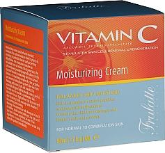 Perfumería y cosmética Crema facial con vitamina C, extractos de aloe vera, manteca de karité y jojoba - Frulatte Vitamin C Moisturizing Cream