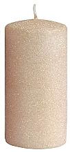 Perfumería y cosmética Vela decorativa, color rosa con dorado, 7x10cm - Artman Glamour