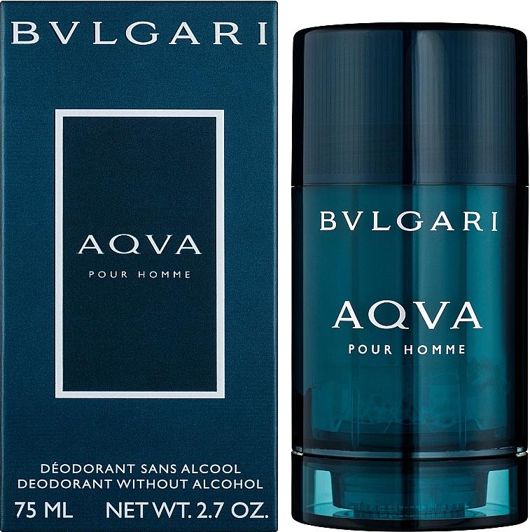 Bvlgari Aqva Pour Homme - Desodorante stick — imagen N2