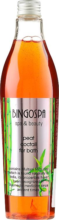 Cóctel de baño con extracto de turba y arcilla mitti - BingoSpa Spa & Beauty Peat Coctail For Bath Multani Mitti