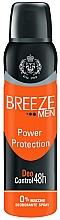 Perfumería y cosmética Desodorante spray antimanchas - Breeze Men Power Protection Deo Control 48H